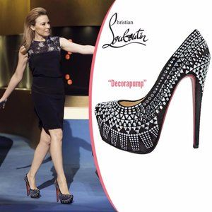 CHRISTIAN LOUBOUTIN Decora Strass Platform Pumps